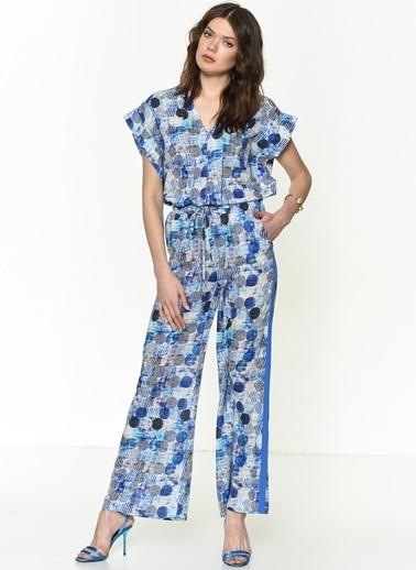 Si Design Pantolon Mavi